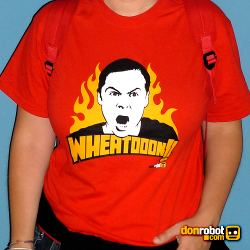 Wheatooon DonRobot Big Bang Theory Tshirt