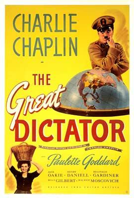 The Great Dictator poster