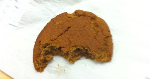 Molasses cookie Oct 4 2011