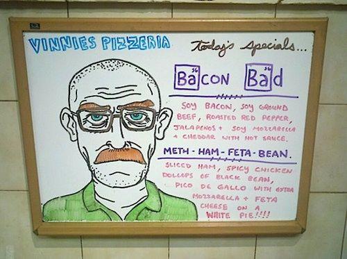 Bacon Bad sandwich