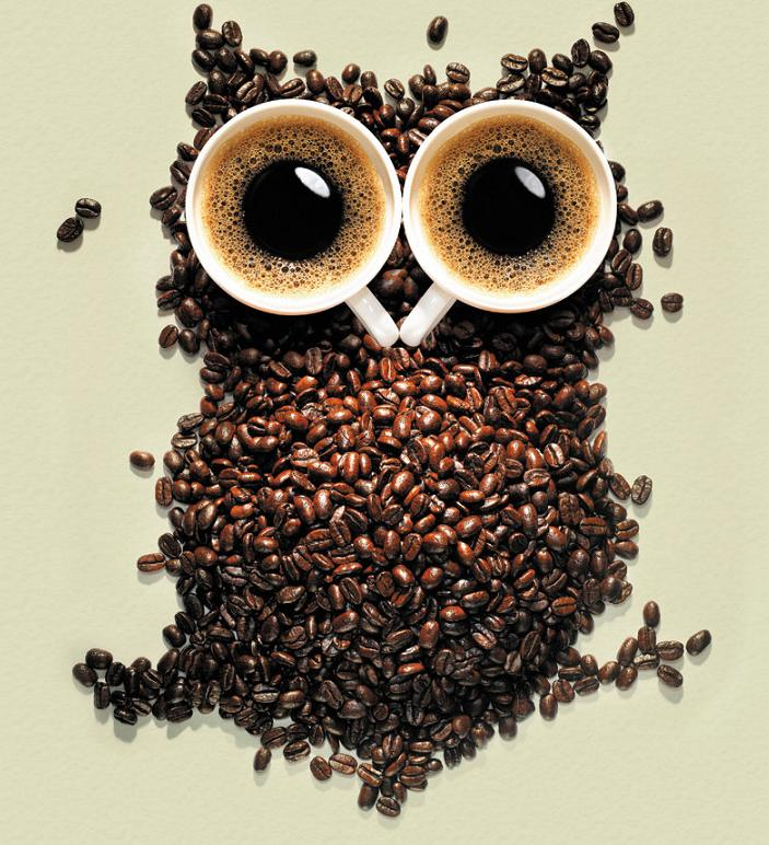 Coffee owl from imageshack