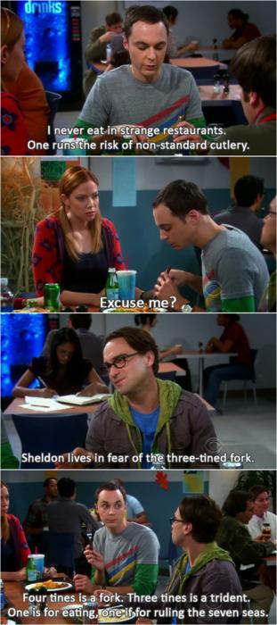 Sheldon fork trident