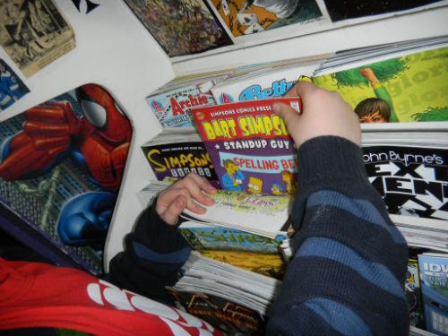 Nick at Downtown Comics April 30 2011