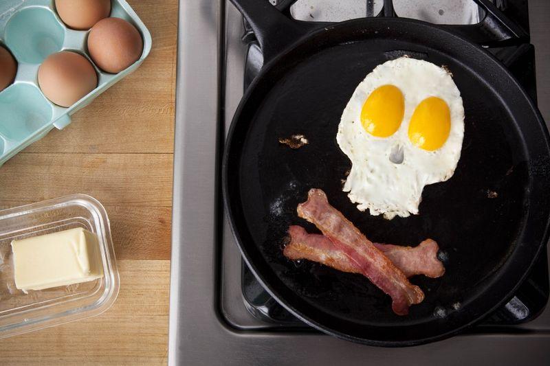 Scary breakfast