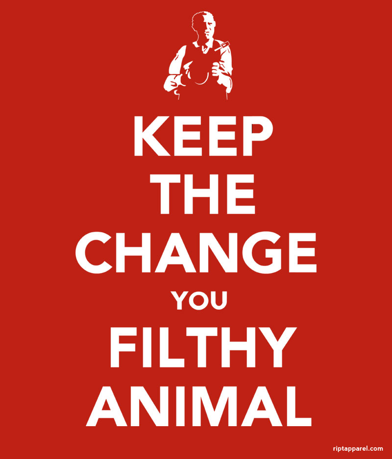Keep The Change You Filthy animal Home Alone T-shirt
