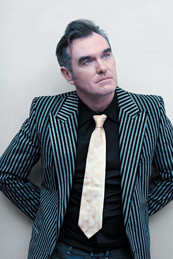 Morrissey yellow tie
