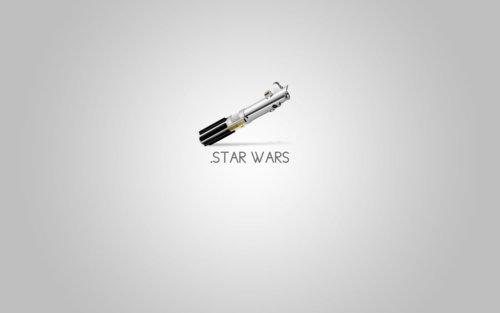 Minimal Star Wars poster