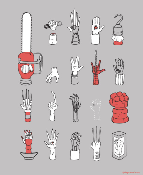 Movie Hands from Ript Apparel
