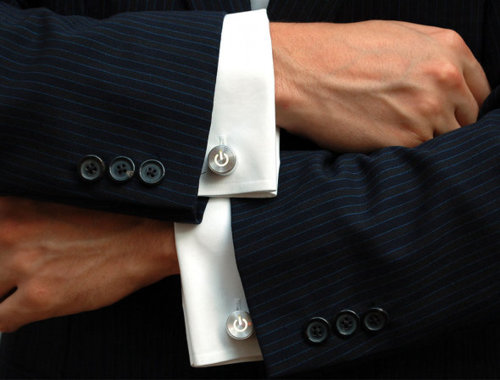 Macbook cufflinks