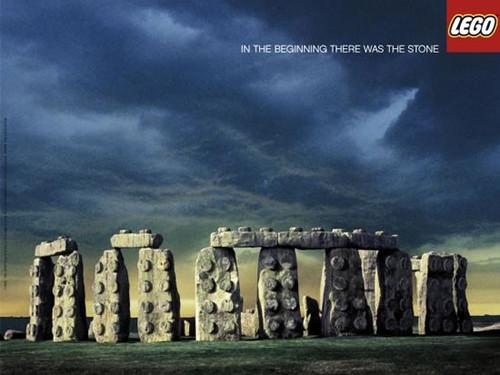 Lego Stonehenge
