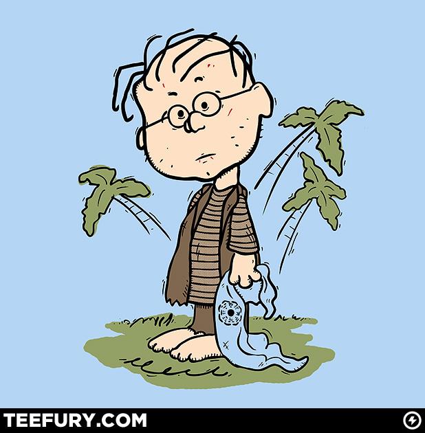 Linus TeeFury Lost Tshirt