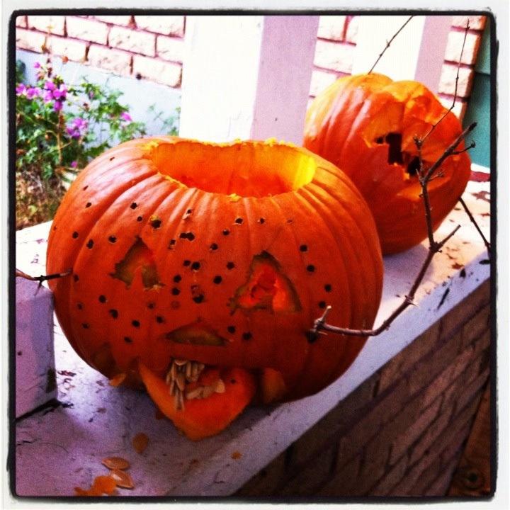 Zombie pumpkin 2