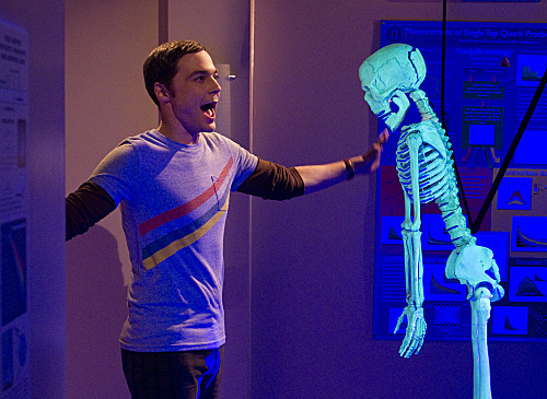Sheldon Cooper Halloween episode 2011 Good Guy Fluctuation