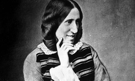 George Eliot novelist smiling