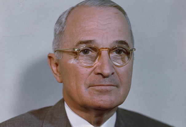 Harry S Truman colour