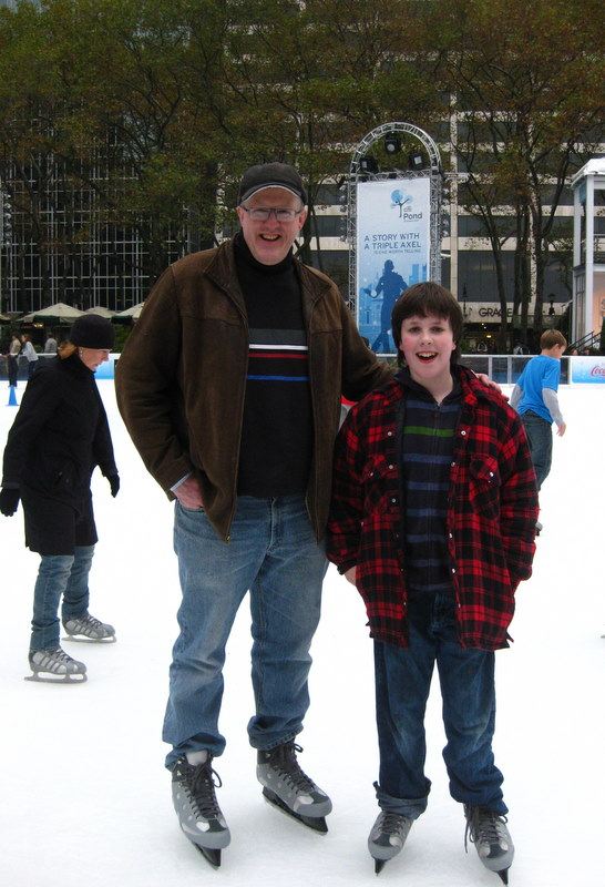 John and Nick Bryant Park skating