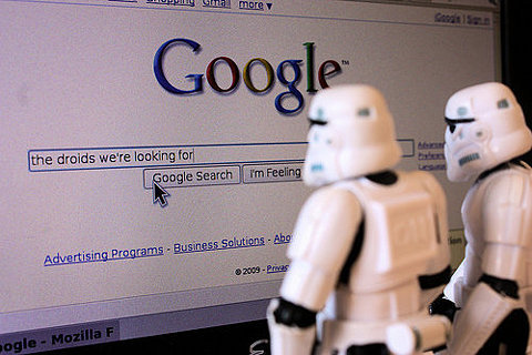 Stormtroopers hit Google