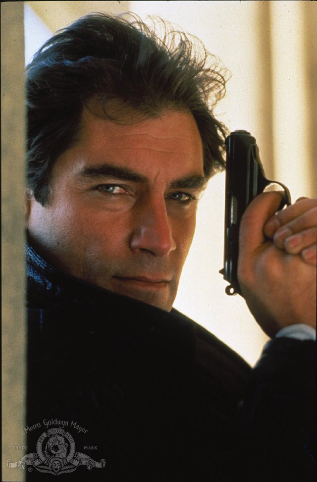 Timothy Dalton as James Bond The Living Daylights MGM