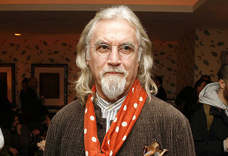 Billy Connolly glasses scarf