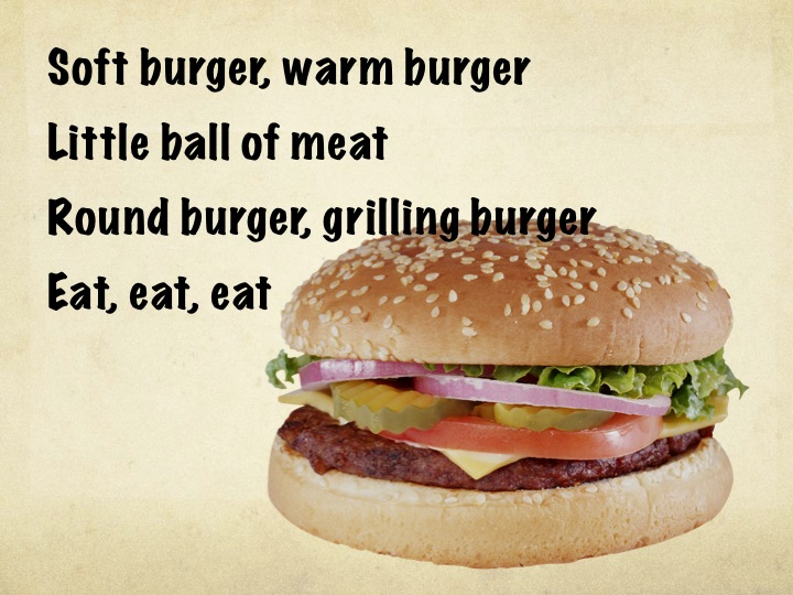 Soft burger warm burger
