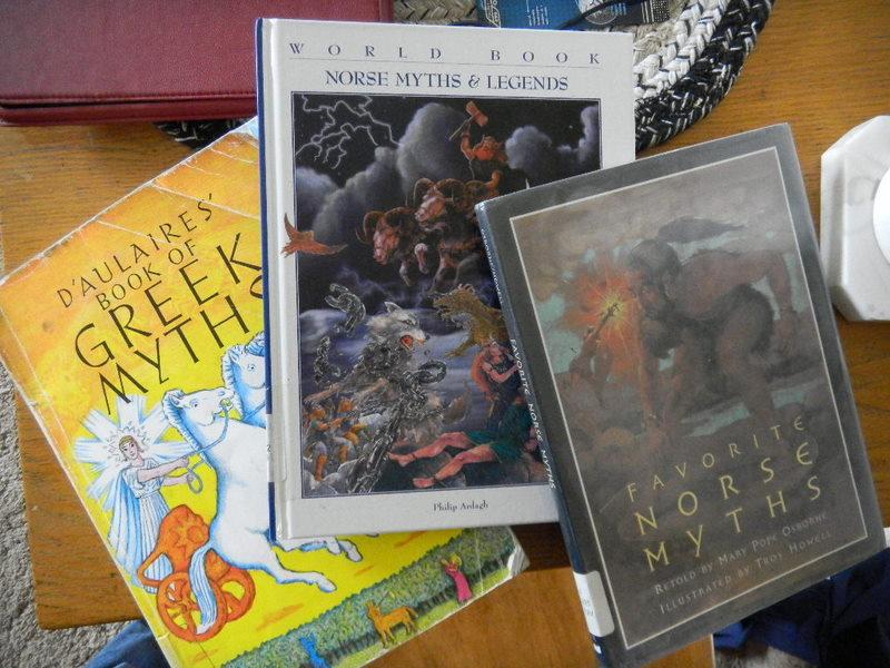 Mythology books for Nick