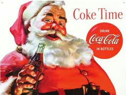 Santa Claus Coca Cola Santa TIme