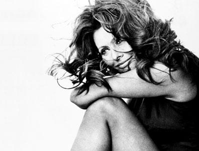 Sophia Loren thinking