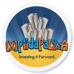 Xpendapalooza logo from Influncier