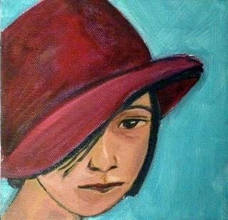 Dorothy Parker portrait by Blue Hour Studio