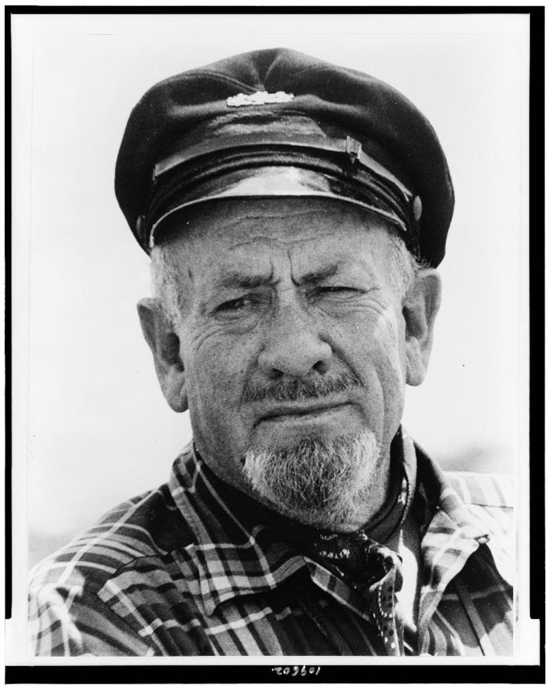 John Steinbeck 1960s with hat