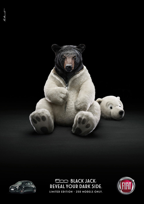 Fiats polar bear ad