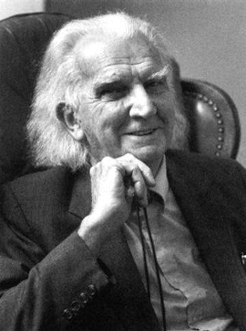 Kenneth E Boulding writer activist black and white