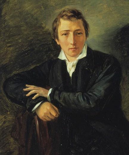 Heinrich Heine painting
