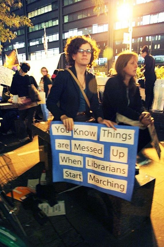 You Know Things Are Messed Up When Librarians Start Marching