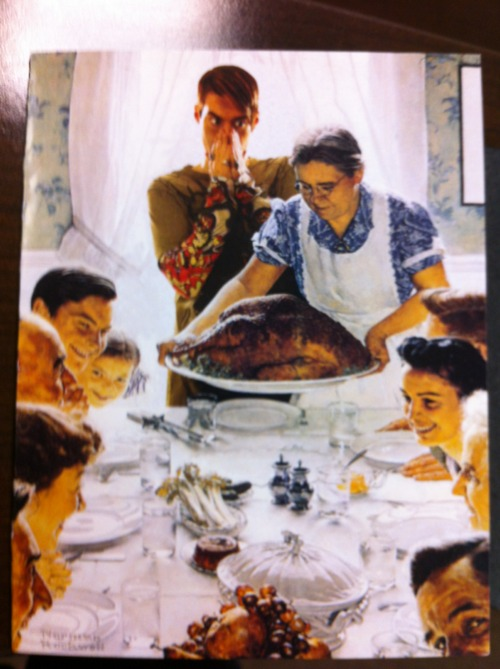 Stefon Norman Rockwell Christmas