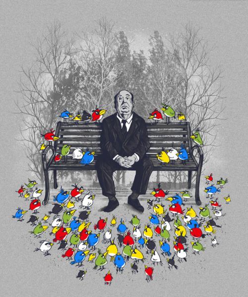 Them Birds Hitchcock Angry Birds
