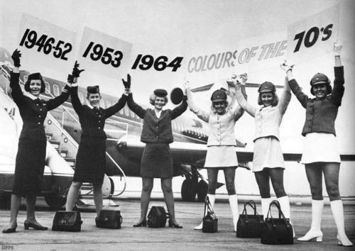 US Airline stewardess uniforms