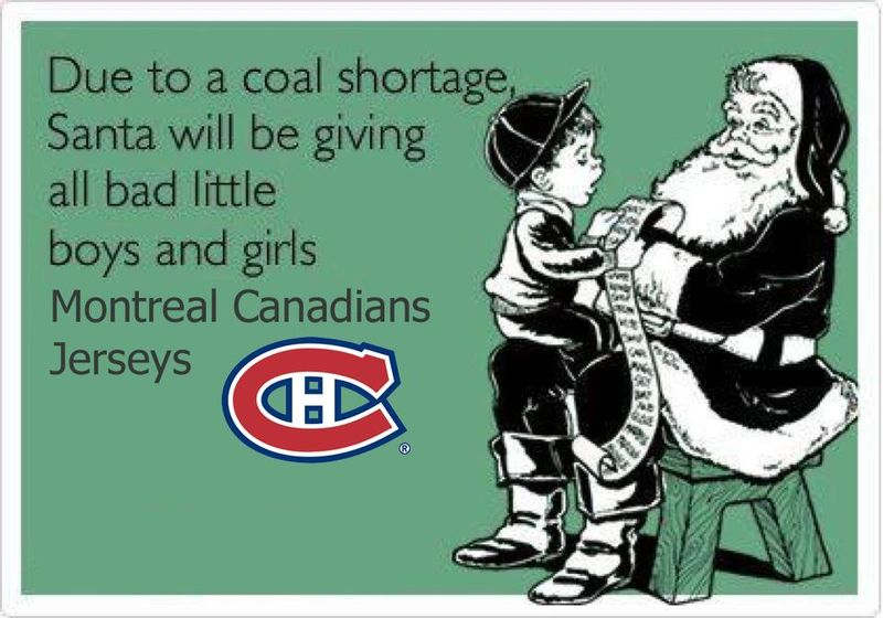 Coal shortage Montreal Canadiens jerseys