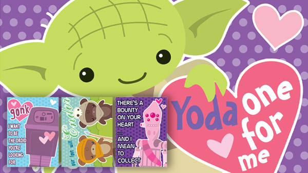 Yoda one for me Star Wars cards