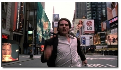Tom Cruise runs