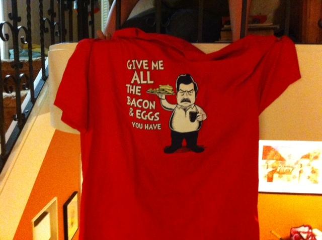 Ron swanson tshirt 20120426