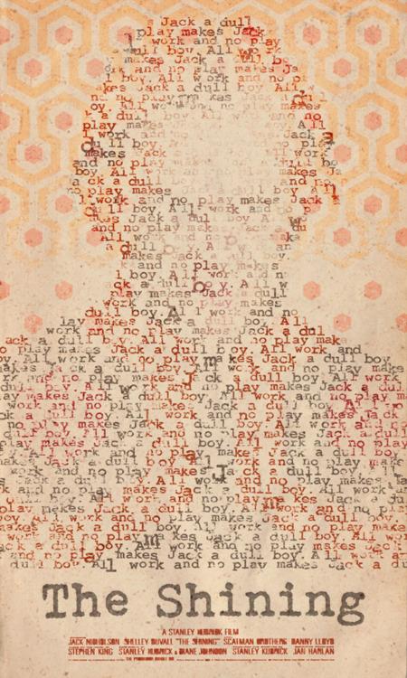 The Shining poster Minimalist