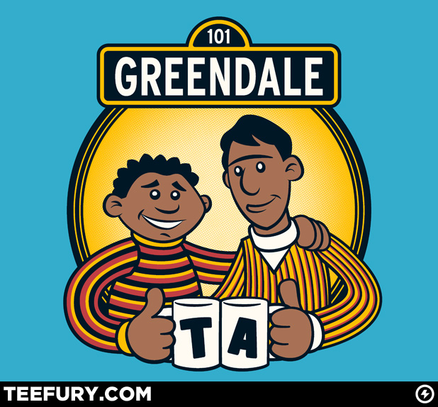 Troy and Abed Bert and Ernie