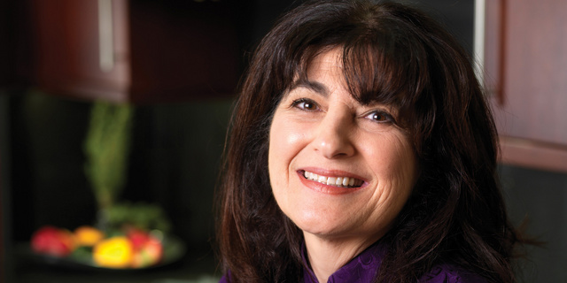 Ruth Reichl smiling