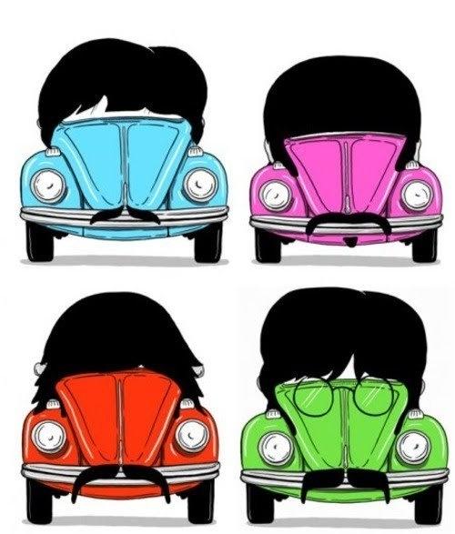 Beatle moustaches VW bugs