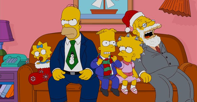 Simpsons family photo 2011