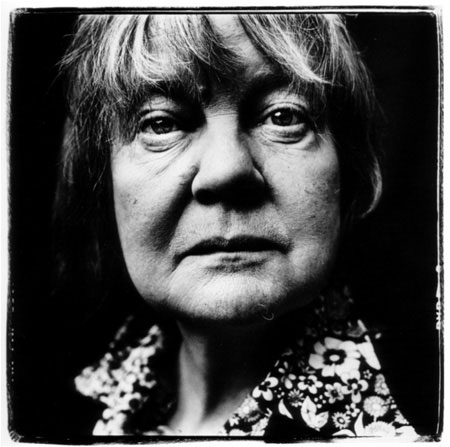Iris Murdoch black and white