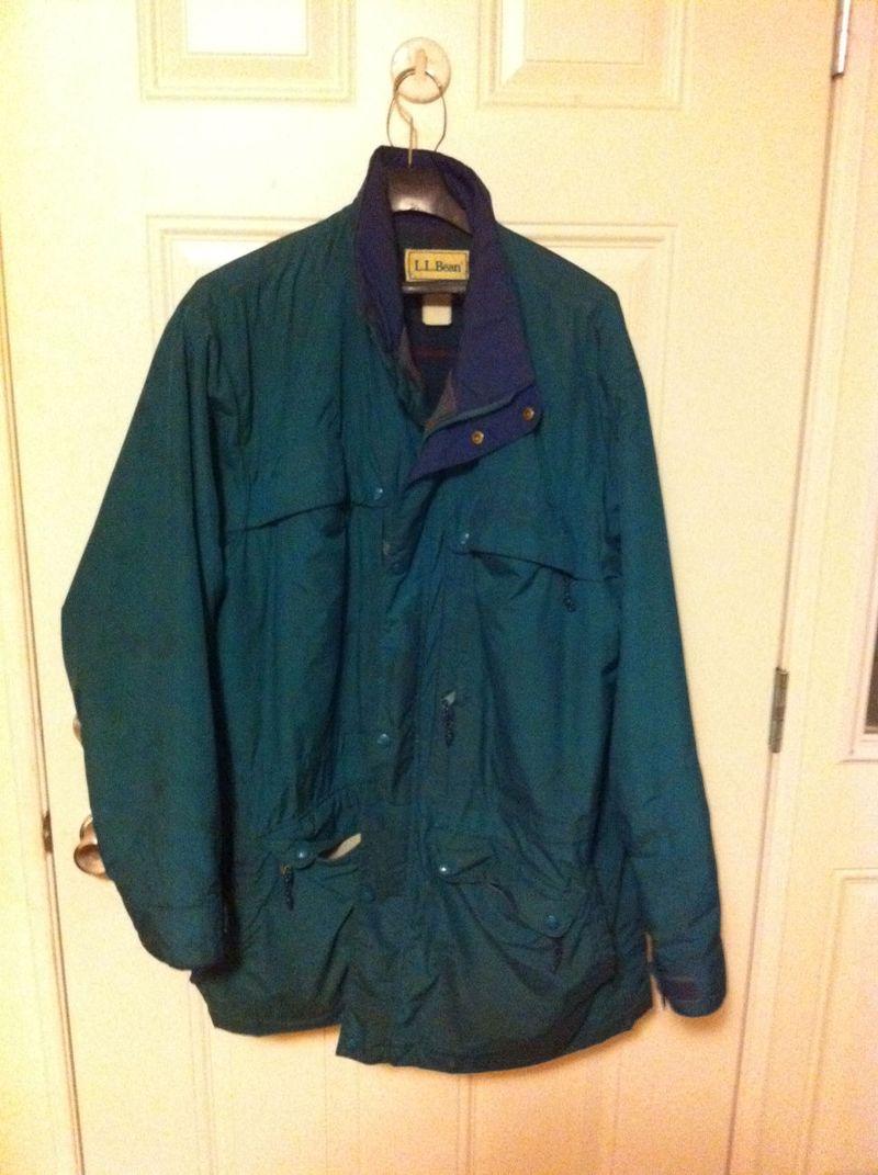 My LL Bean coat