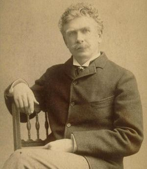 Ambrose Bierce photograph sepia seated portrait