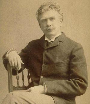 Ambrose Bierce photograph sepia seated portrait